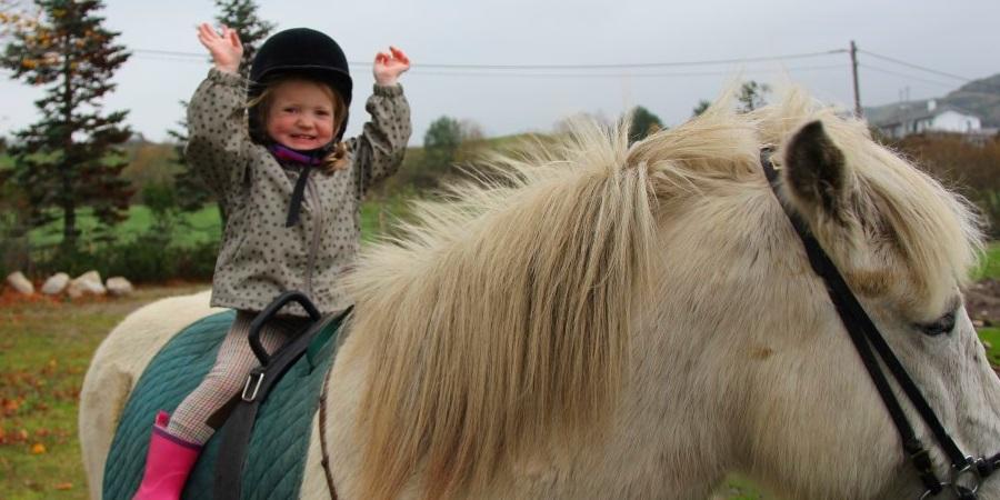 Rideskole for barn, ungdom og voksne